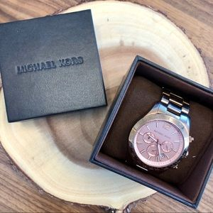 Michael Kors Rose Gold Layton Watch